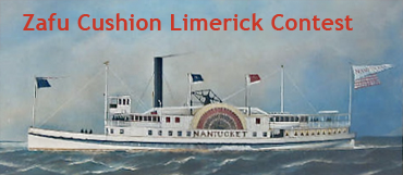 Zafu Cushion Limerick Contest
